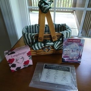 Longaberger Picture Perfect Sweetheart Basket